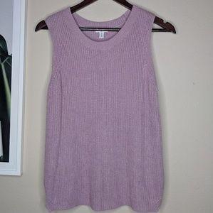 🌴 NORDSTROM BP Lilac Sweater Vest